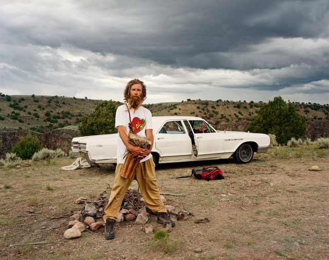 Joel Sternfeld, 'A Man at His Campsite, El Prado, New Mexico, August 1999', 1999, Buchmann Galerie