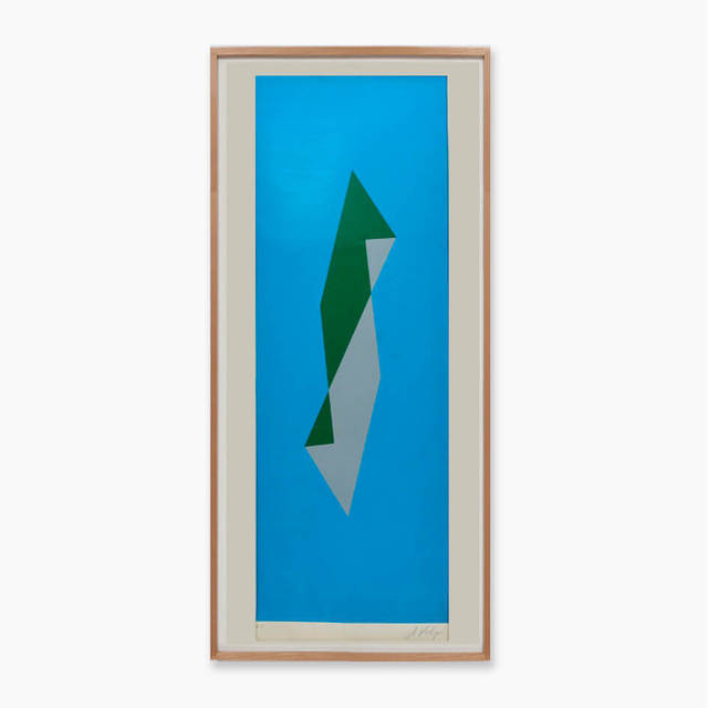 Alfredo Volpi, 'Untitled ', ca. 1980, Print, Serigraphy on Paper, LAART