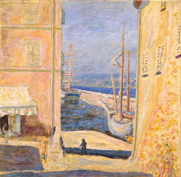 , 'View of the Old Port, Saint-Tropez,' , Legion of Honor