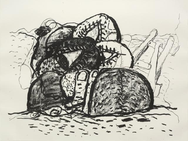 , 'The Gulf,' 1980, Aurel Scheibler