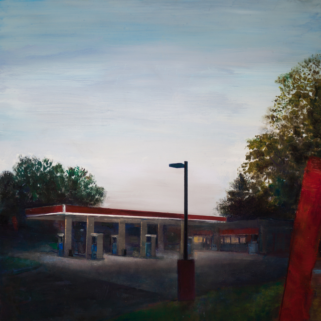 Trevor Young, 'Banners', 2020, Painting, Oil on panel, Addison/Ripley Fine Art