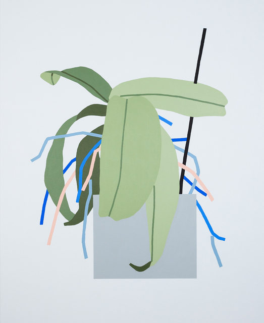 , 'Untitled Plant Painting,' 2014, Ninasagt