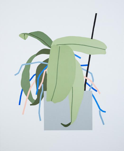 , 'Untitled Plant Painting,' 2014, Ninasagt