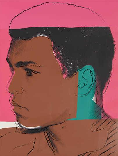 Andy Warhol, 'Muhammad Ali', 1978, Moderna Gallery