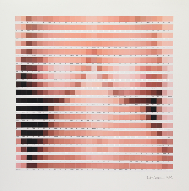 , 'Afraid of a Lady,' 2016, Lawrence Alkin Gallery
