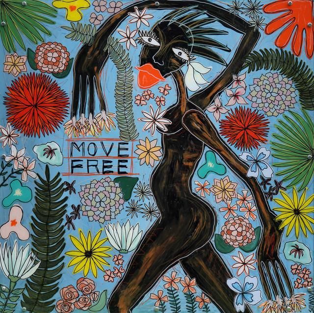 , 'Move free,' 2019, K + Y Gallery