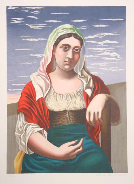Pablo Picasso, 'Italienne d'Après une Photographie, 1919', 1979-1982, RoGallery