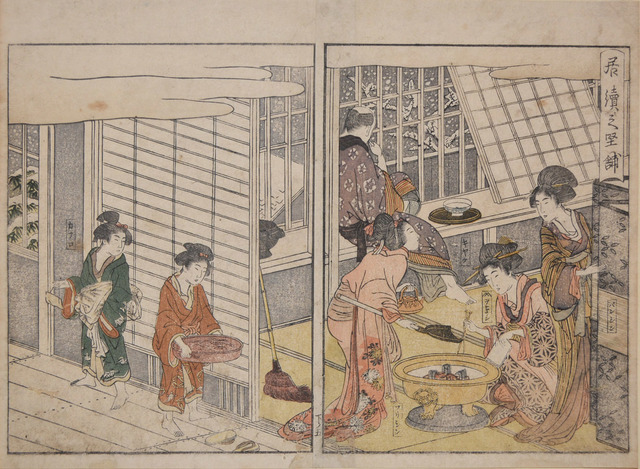 , 'The Customer Who Stayed on the Next Day,' 1804, Ronin Gallery