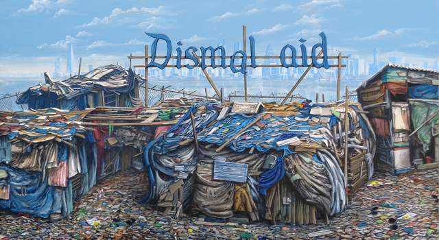 , 'Dismal Aid London,' 2016, Lawrence Alkin Gallery