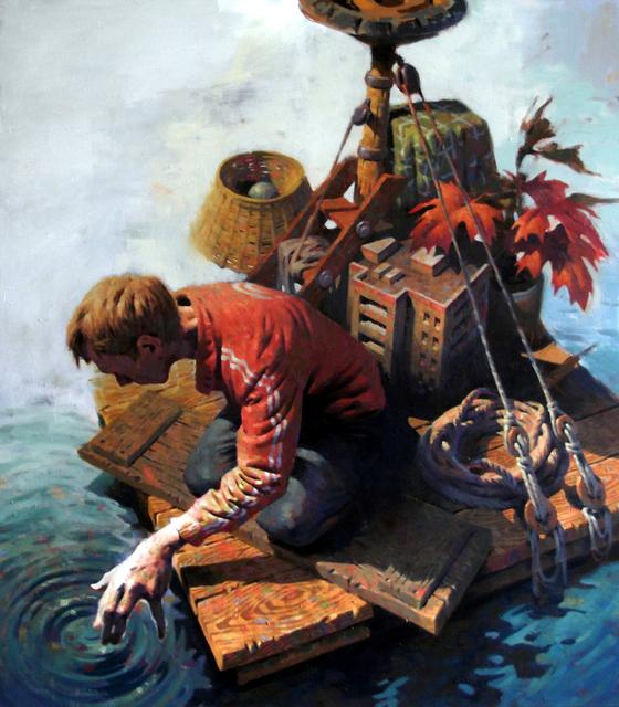 , 'Raft,' 2017, Galerie Kremers