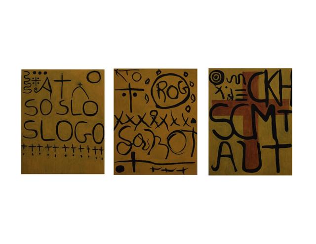 , 'Sosloslogo,' 2014, Arielle de Saint Phalle + Taylor Roy