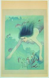 The Heroine Matsukaze, from the series Complete Works of Chikamatsu Manzaemon