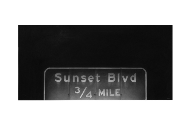, 'Sunset Blvd,' 2017, LAUNCH LA
