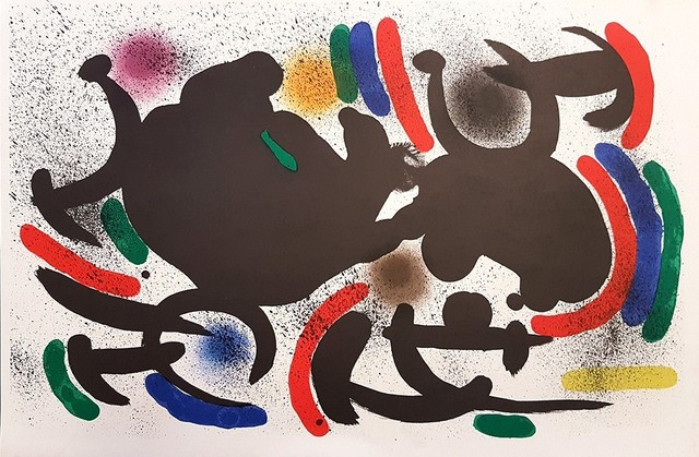 Joan Miró, 'Mirò Lithographe I - Plate VII', 1972, Wallector