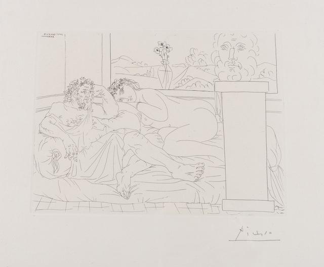 Pablo Picasso, 'Le Repos de Sculpteur IV (from the Vollard Suite) (Bloch 174)', 1933, Forum Auctions