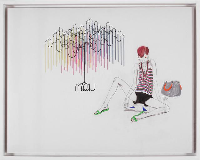 , 'Untitled (Study of Girl with tree),' 2014, Studio SALES di Norberto Ruggeri