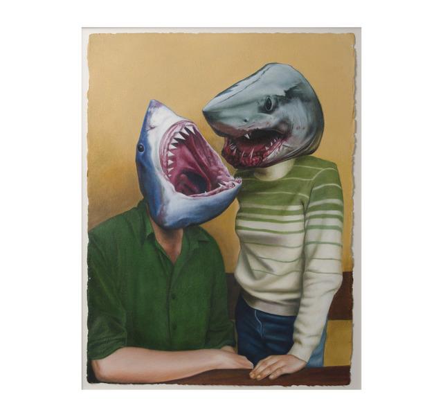 , 'Sharks,' 2011, Hieronymus