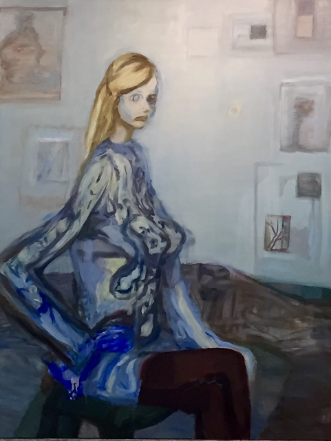 , 'Blue Studio,' 2015, PARISIAN LAUNDRY