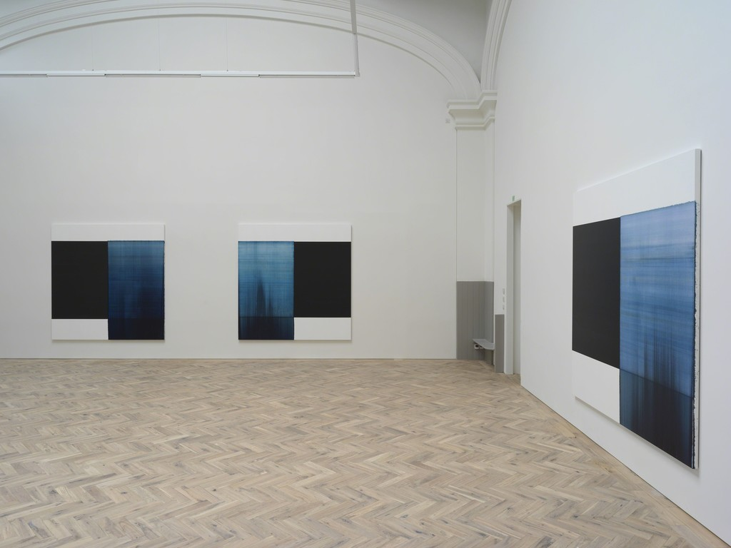 Installation view of the solo exhibition