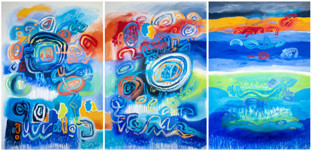 Jacqueline Unanue, 'Gaiamama V', 2019, Painting, Acrylic on canvas, InLiquid