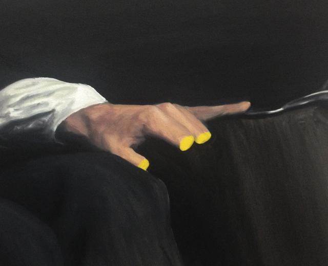, 'Yellow heart,' 2015, Asia Art Center
