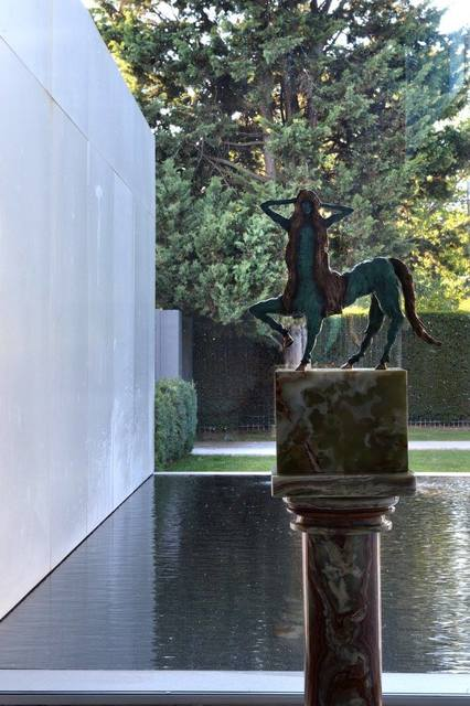Allison Schulnik, 'Centaurette 1', 2017, Sculpture, Cast bronze on stone base, Mark Moore Fine Art