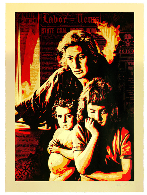 Shepard Fairey, 'Two Americas', 2016, Subliminal Projects
