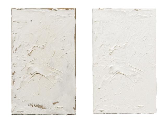 Michael Müller, 'Das Bild als Objekt, 2 part work', 2017, Galerie du Monde