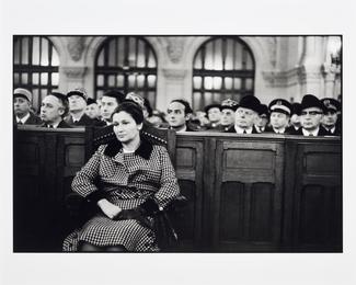 Simone Veil, 1975, Paris, Synagogue De La Victoire