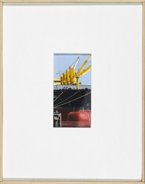 , 'loading Mississippi at New Orleans,' 2016, Miller Yezerski Gallery