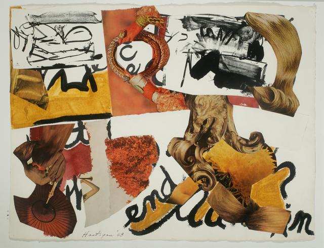 , 'Barbara Guest Archaics,' 1968, ACA Galleries