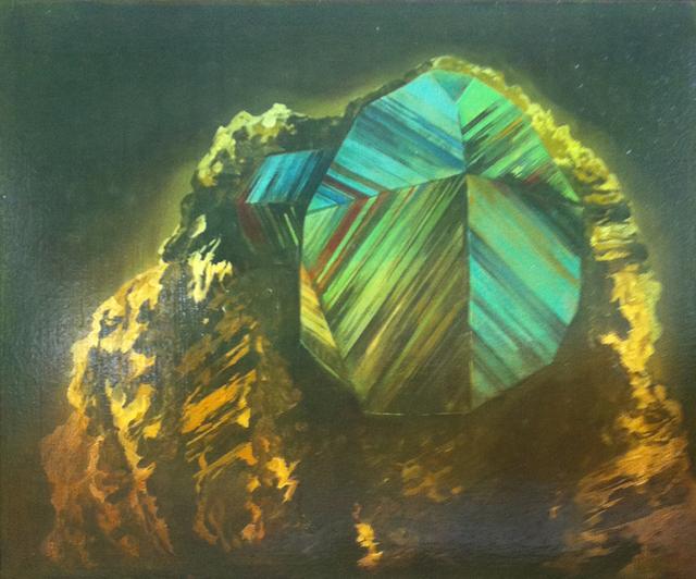 , 'Pyrite,' 2015, Galerie Les filles du calvaire