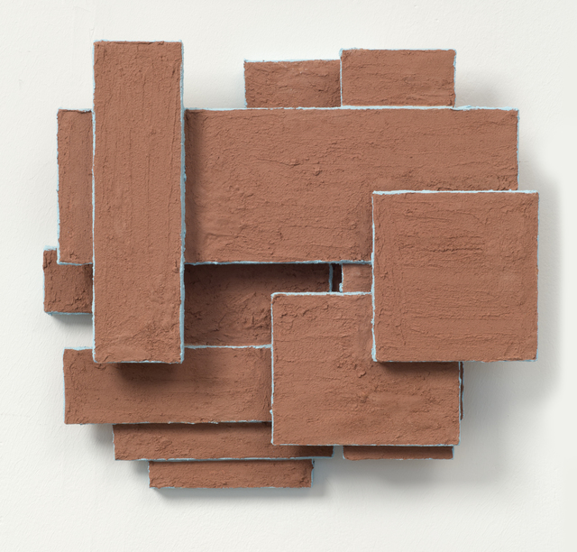 , 'Clay Painting,' 2012, Laure Genillard
