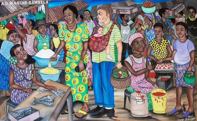 , 'Au marché Gambela,' 2016, Africa Bomoko