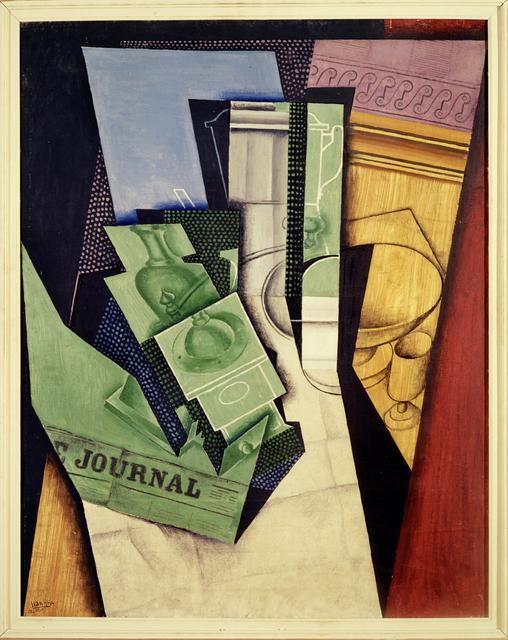 Juan Gris, 'Le Petit Dejeuner', 1915, Erich Lessing Culture and Fine Arts Archive