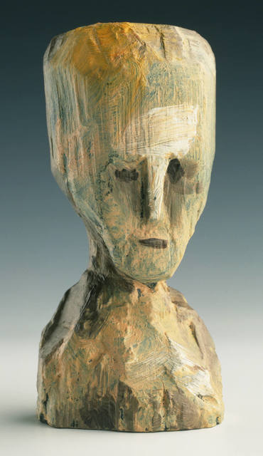 Jonathan Borofsky, 'Self Portrait - Bronze Head, (State) Cast from Original Wood...', 1991, Gemini G.E.L.