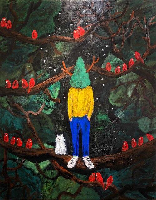 Yuichi Hirako, 'Green Master 61', 2020, Gin Huang Gallery