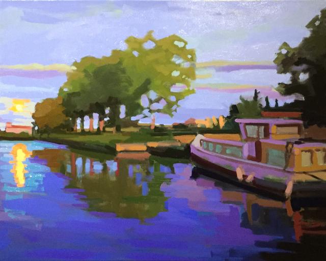 , 'Harvest Rising Canal,' 2018, ArtProv Gallery