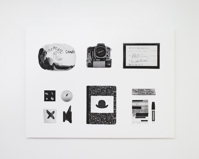 , 'Itemized Objects (GAMND),' 2013, Nina Johnson
