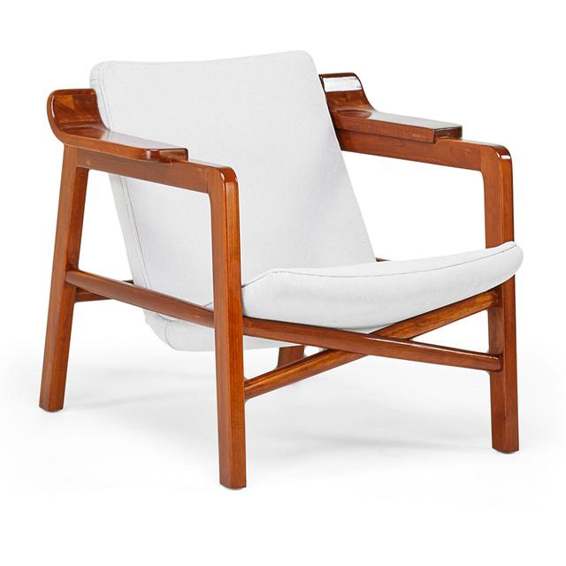 Edvard Kindt-Larsen, 'Fireside Chair, Denmark', 1950s, Rago/Wright