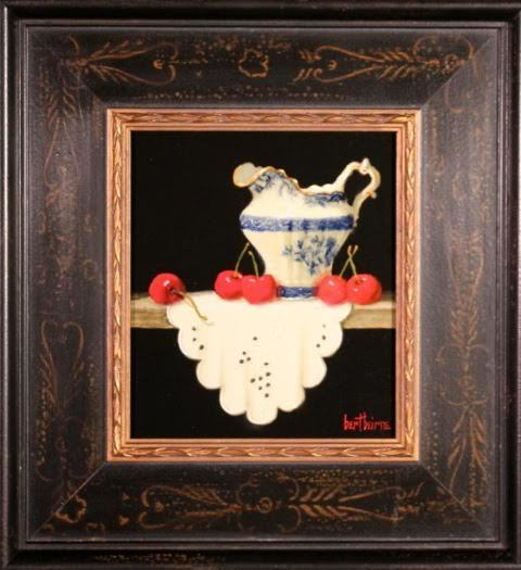 , 'Touraine Creamer, Cherries and Cloth ,' , Zenith Gallery
