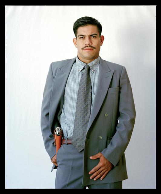 , 'Mi Memín. De la serie (in)Segurirdad. Tipos de guardaespaldas en América Latina,' 2002, Proyecto Paralelo
