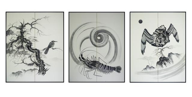 Sun Xun 孫遜, 'Beautiful prediction from China', 2018, Edouard Malingue Gallery