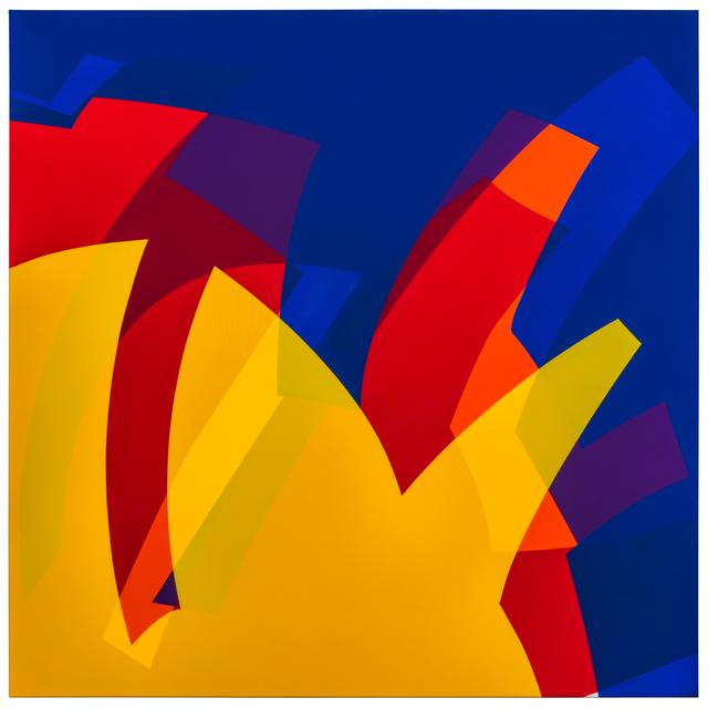 , 'MTCAL 8/6-2 Amarillo - Azul P.C.V.,' 2017, Marion Gallery