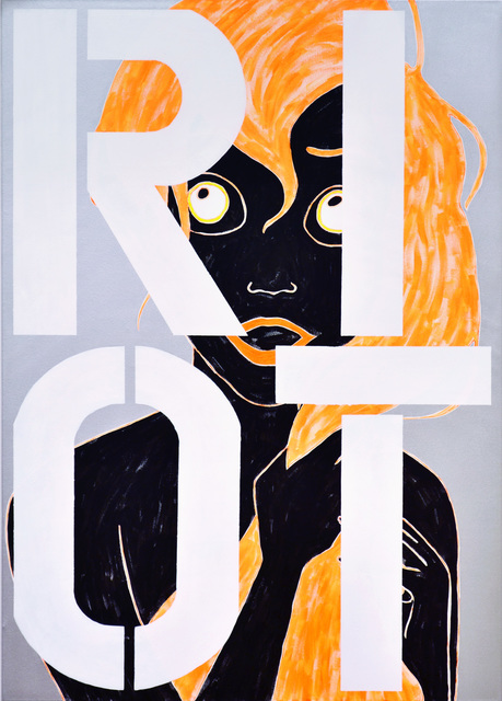 , 'Ariel RIOT,' 2015, Johannes Vogt Gallery