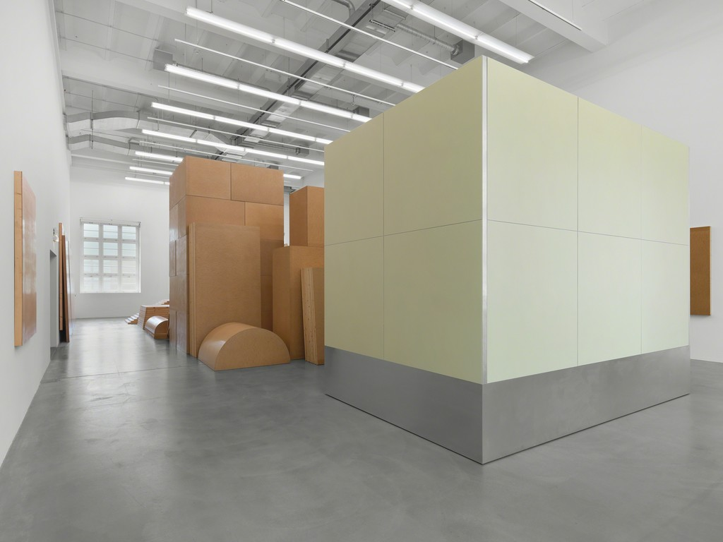 Imi Knoebel, Raum 19 III, 1968/2006, Batterie 2005, Exhibition view Museum Haus Konstruktiv, 2018. © 2018, ProLitteris, Zurich; IMI KNOEBEL (Photo: Stefan Altenburger)