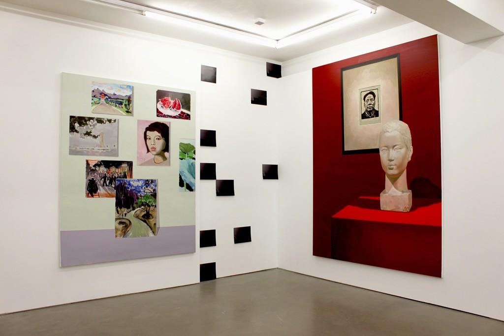 Liu Ding, New Man, 2015 Installation at MOT International London
