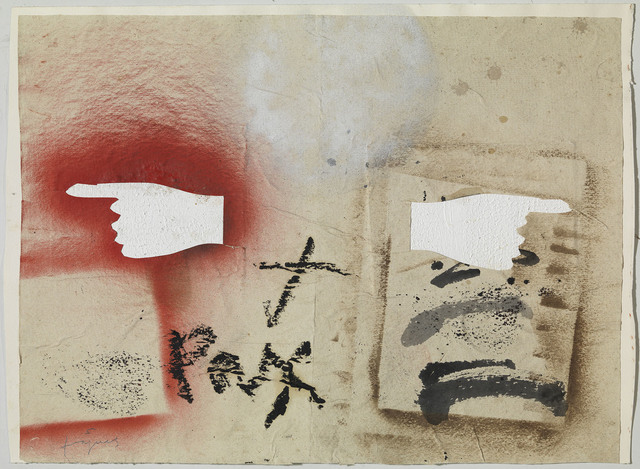 , 'Dues mans assenyalant,' 2011, Galerie Lelong & Co.