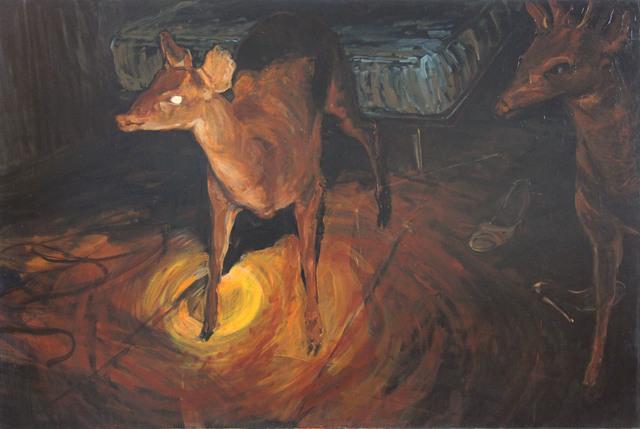 , 'Sin titulo (venado),' 2005, Galería Quetzalli