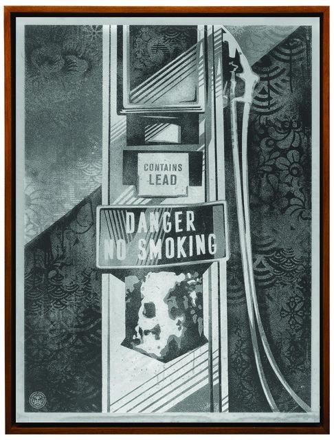 Shepard Fairey, 'Danger No Smoking', 2016, Underdogs Gallery